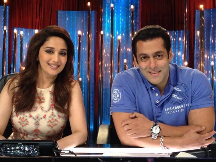 Madhuri And Salman Dazzled On The Sets Of Jhalak Dikhhla Jaa 6