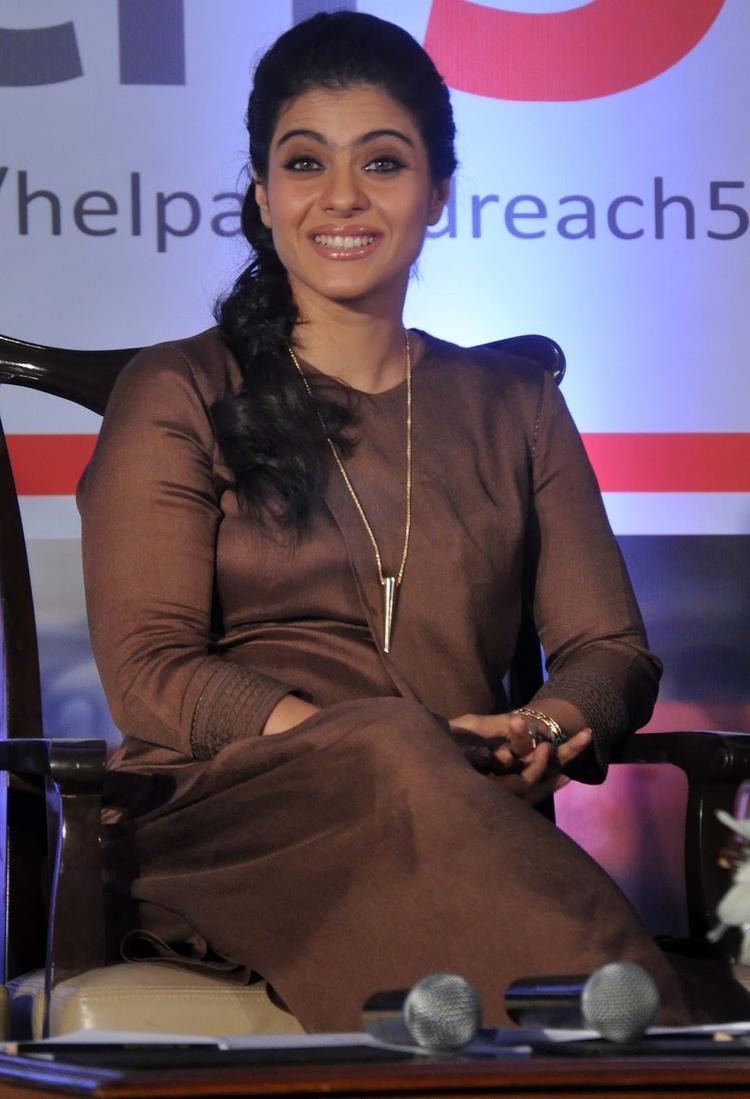The Glowing Beauty Kajol Devgan Help A Child Campaign