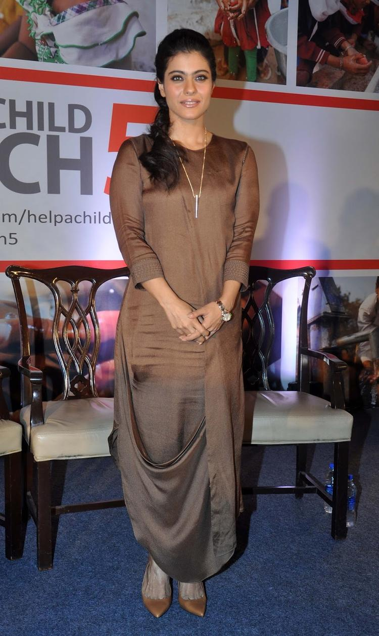Kajol At Help A Child Reach 5 Campaign And Her Support For The Cause Of Handwashing