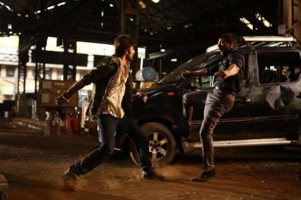 Ranbir Kapoor Fighting Still From Upcoming Movie Besharam