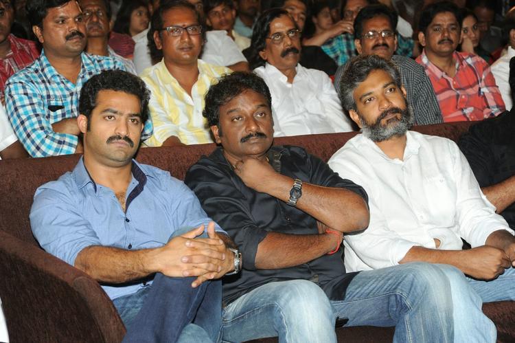 Jr. NTR,V. V. Vinayak And S. S. Rajamouli Graced At Ramayya Vastavayya Audio Release Function
