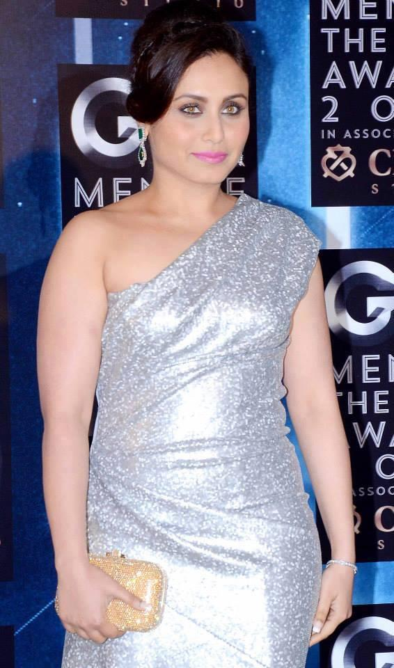 Rani Mukerji Sizzles In Front Of The Camera At GQ Men Of The Year Awards 2013