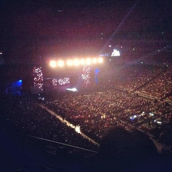 A Pic Of Temptations Reloaded 2013 Concert At Sydney, Australia
