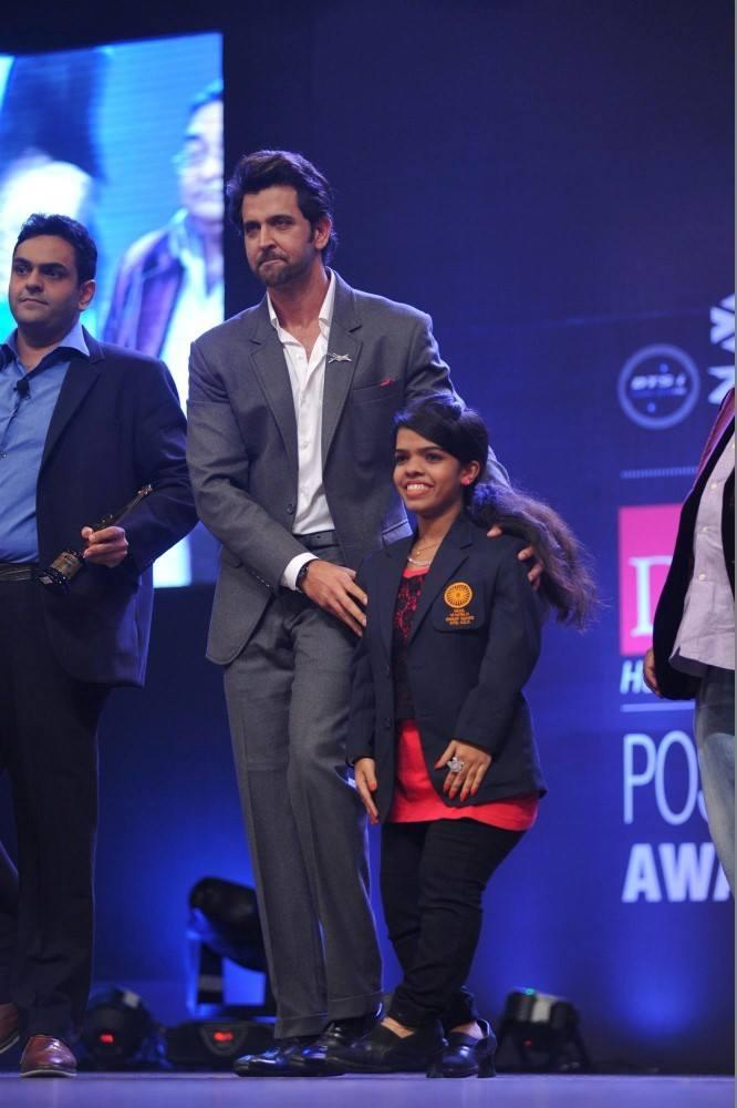 Hrithik Roshan As The Chief Guest At Dr. Batra's Positive Health Awards 2013