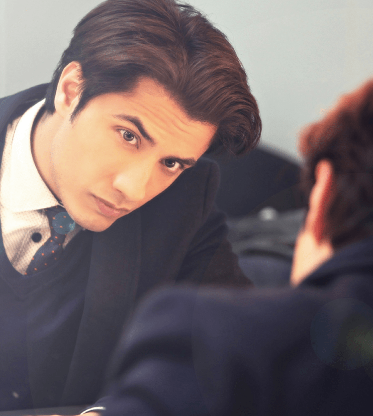 Ali Zafar Fresh Hot Look Pic On The Cover Of Hello Magazine October 2013