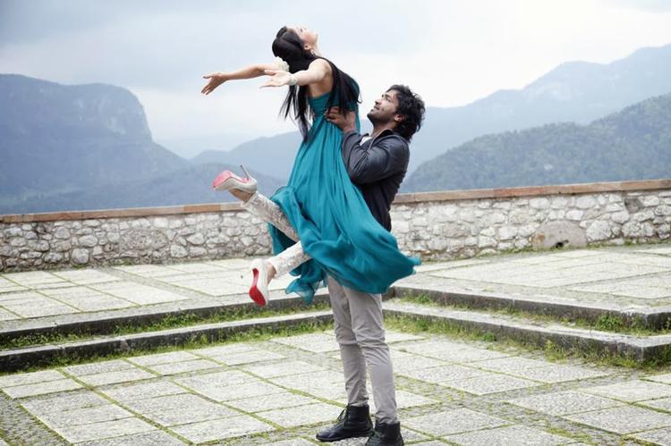 Vishnu And Lavanya Doosukeltha Movie Romantic Song Still