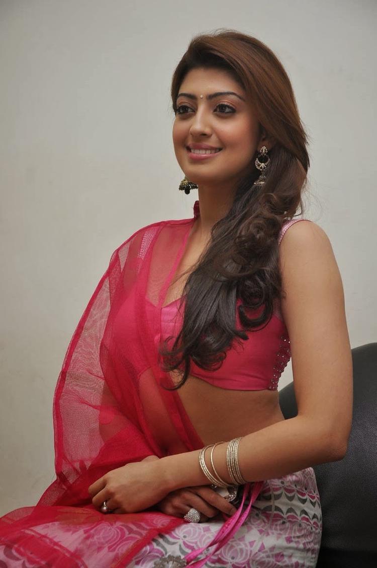 Pranitha Subhash Flashes Smile At Attarintiki Daredi Movie Thank You Press Meet Function