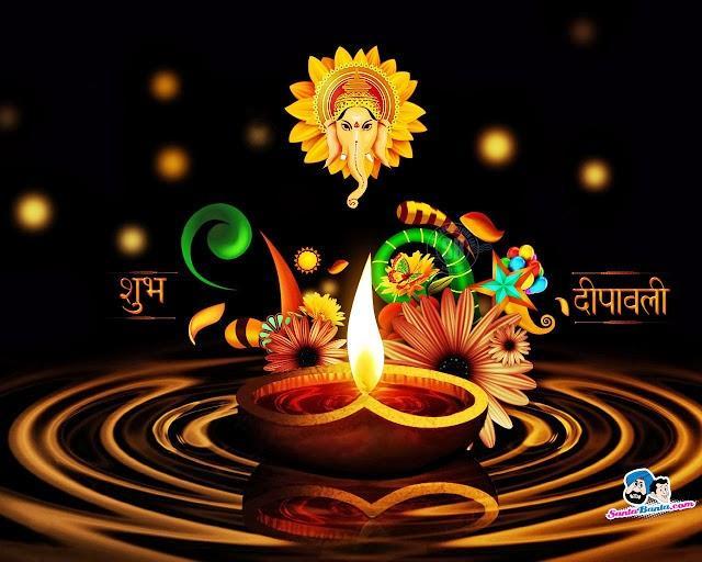 The Biggest Indian Festival Deepavali 2013 HD Wallpaper