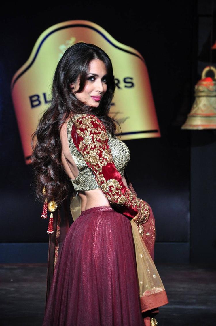 Malaika Arora Khan Walks On Ramp At Blenders Pride Fashion Tour 2013 Show