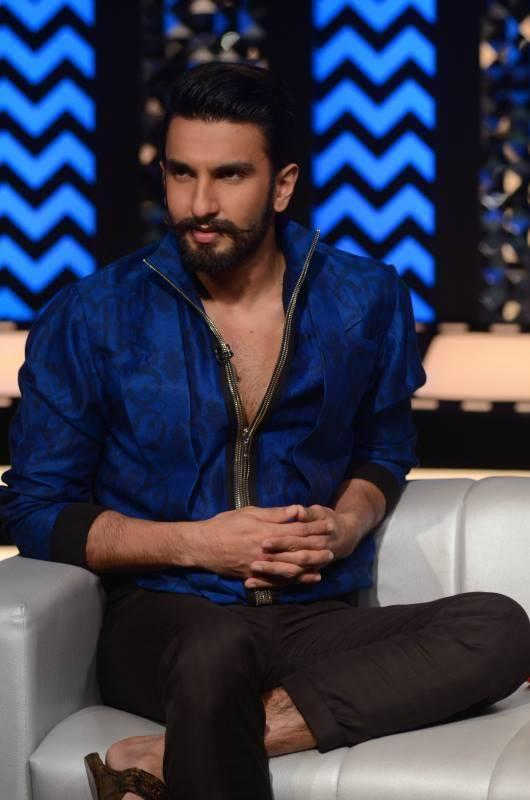 Ranveer Singh Dashing Look On The Front Row With Anupama For Ram Leela