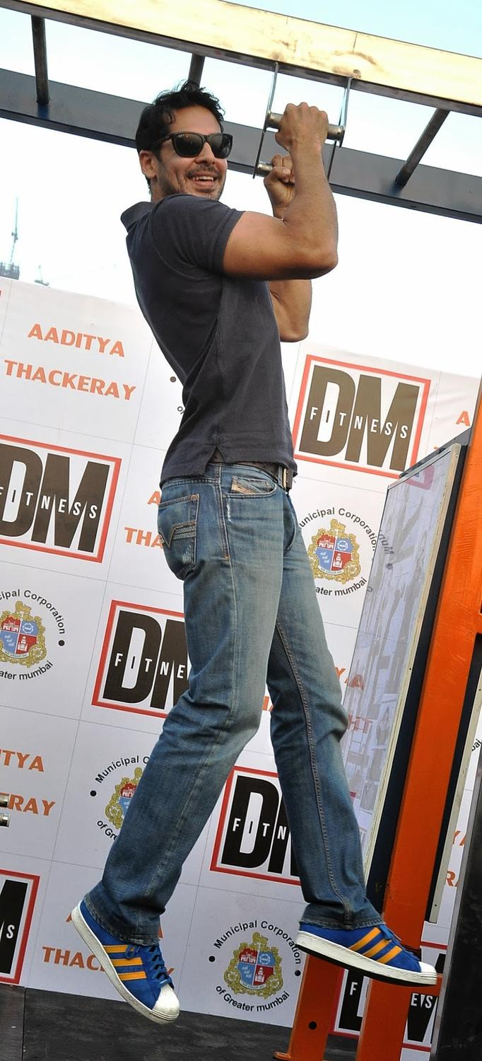 Dino Morea A Pic During Inauguration Of DM Fitness Centre