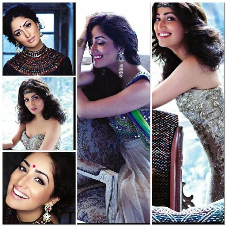 Yami Gautam Different Look Graced On Hello India November 2013 Issue