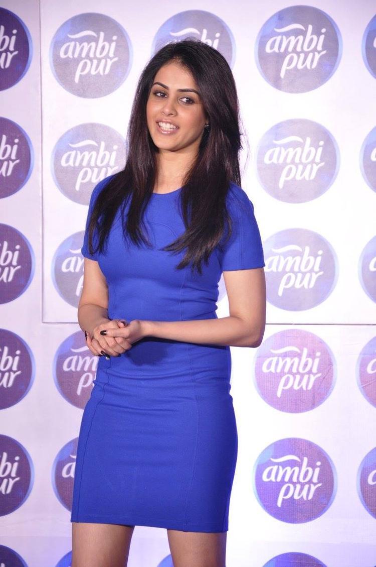 Genelia D'Souza At Ambi Pur's Refresh Your Love Campaign Launch