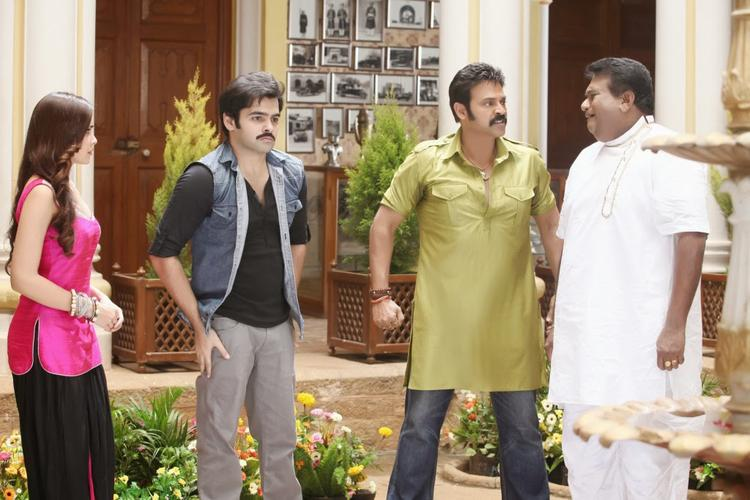 Telugu Movie Masala Venkatesh Angry Still