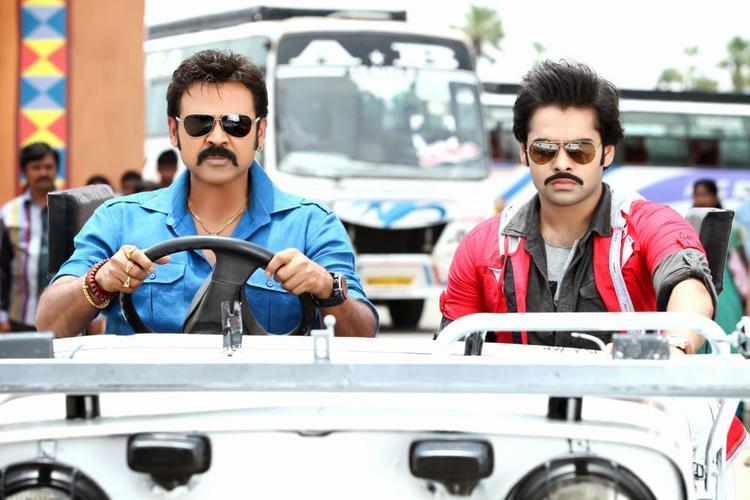 Venkatesh And Ram Latest Stylist Pic From Telugu Movie Masala