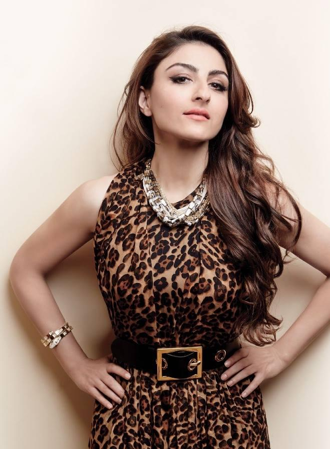 Soha Ali Khan Charming Look Shoot For L'Officiel November 2013 Issue