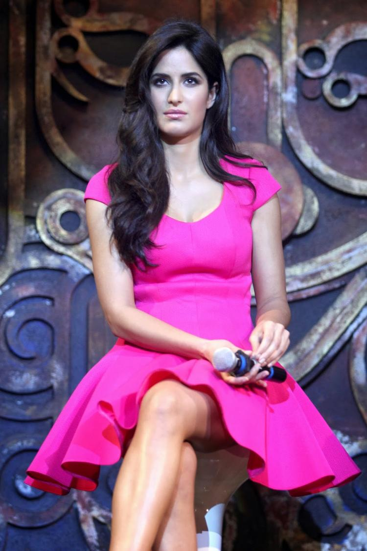 Glamour Diva Katrina Kaif At The Dhoom Machale Song Launch Event In Mumbai