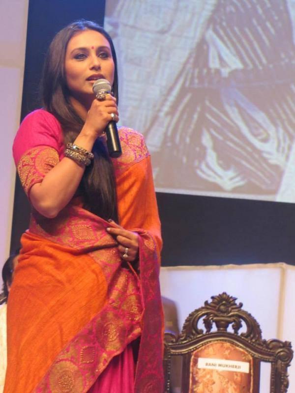 Bollywood Hottie Rani Mukherjee Looking Beautiful At Kolkata International Film Festival 2013