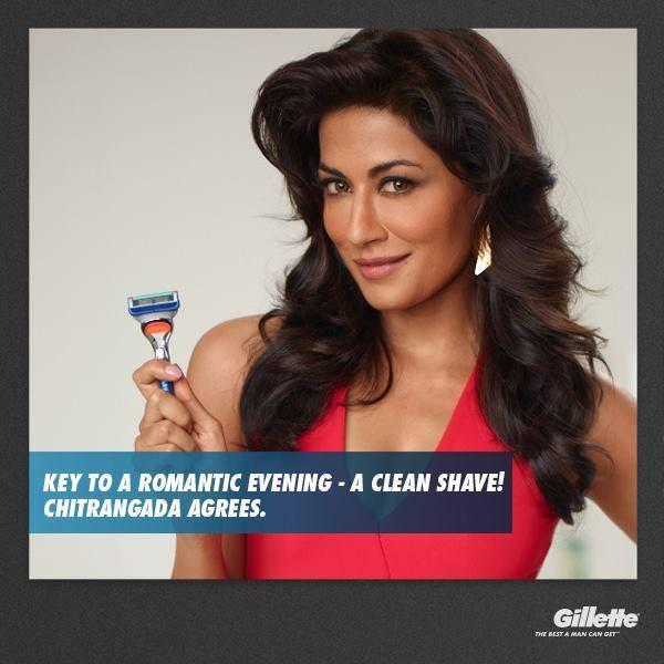 Chitrangada Singh Cool Shoot For Gillette Print Ads