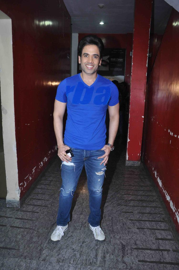 Tusshar At Gori Tere Pyaar Mein Movie Special Screening In Mumbai