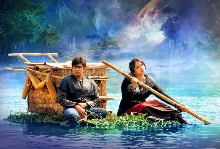 Arya And Anushka Shetty In Varna Telugu Movie Wallpaper