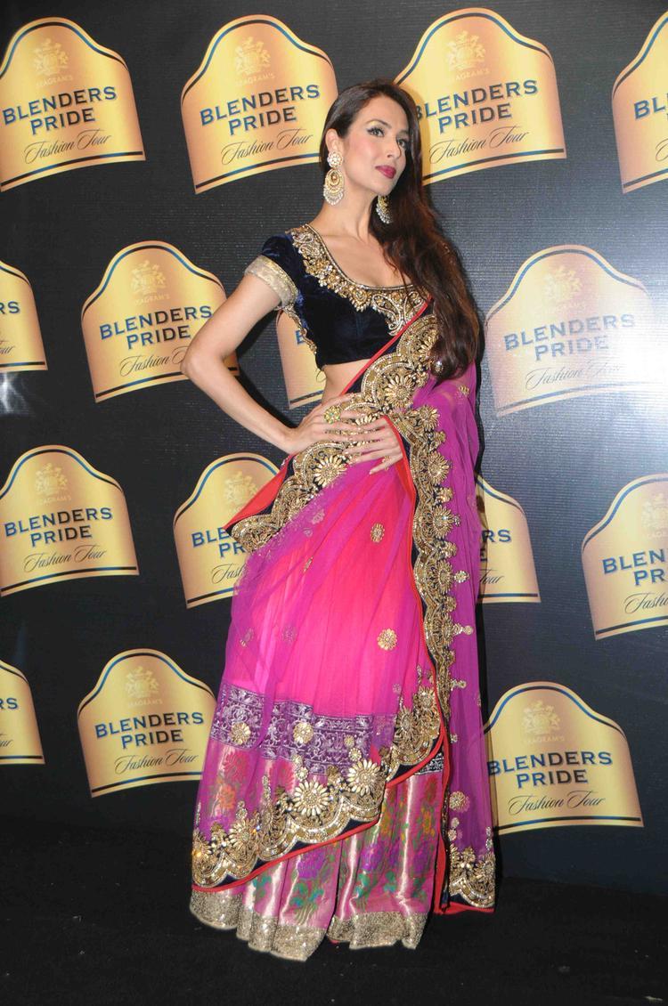 Glamour Malaika At Blender's Pride Fashion Tour 2013 Mumbai Day 2 Event