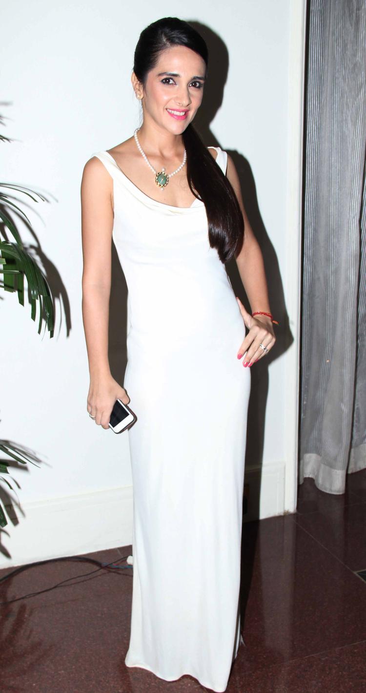 Beautiful Tara Sharma Attend The SCMM Press Conference
