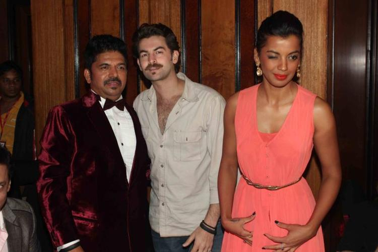 Neil Nitin And Mugdha Cool Look During The 25th Anniversary Celebration Of Shiva's Saloon And Academy