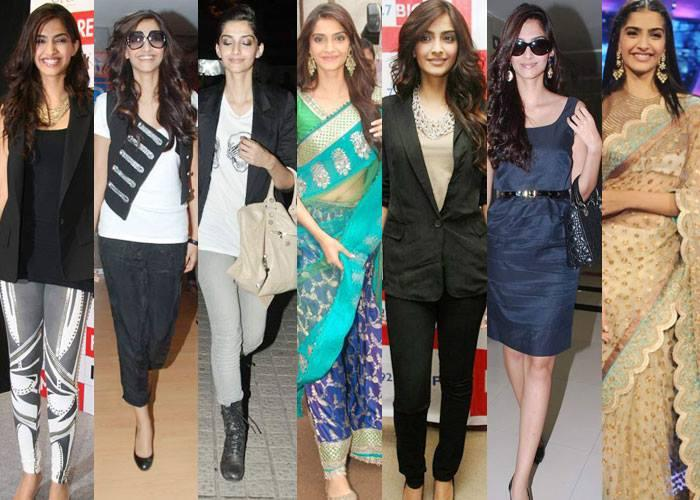Sonam Kapoor Is The 4th Fashionista Of 2013