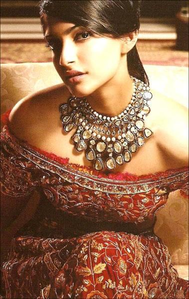 Sonam Kapoor Drop Dead Pose Photo Shoot