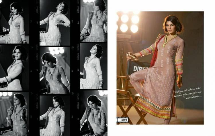 Jacqueline Fernandez In Party Wear Hot Salwar Kameez Collection Photo Shoot
