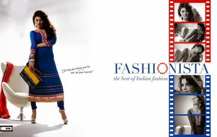 Jacqueline Fernandez In Party Wear Salwar Kameez Collection Photo Shoot