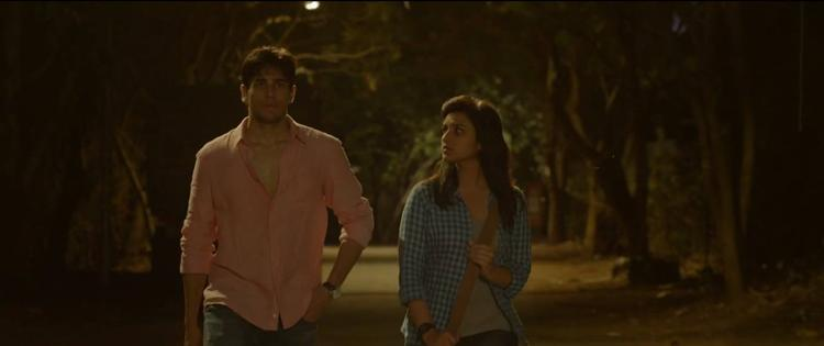 Parineeti And Siddharth A Still From HaseeToh Phasee Movie Zehnaseeb Song