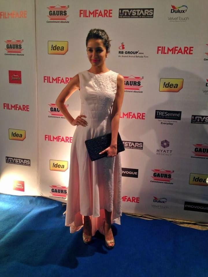 Pretty Shraddha Kapoor At  59th Idea Filmfare Pre-Awards Party