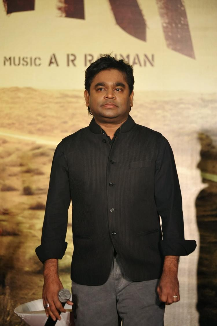 A R Rahman Attend Highway Movie Press Conference