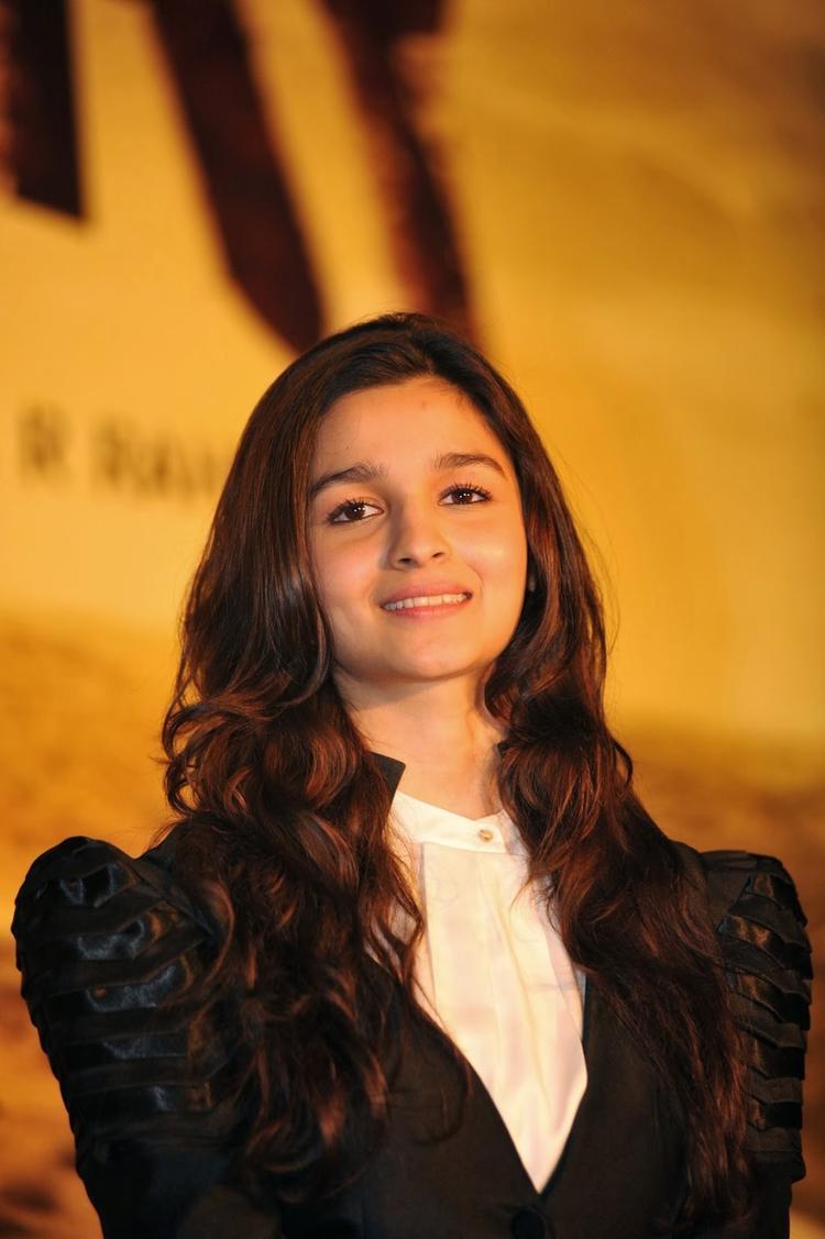 Stunning Alia Bhatt At The Music Launch Of Highway