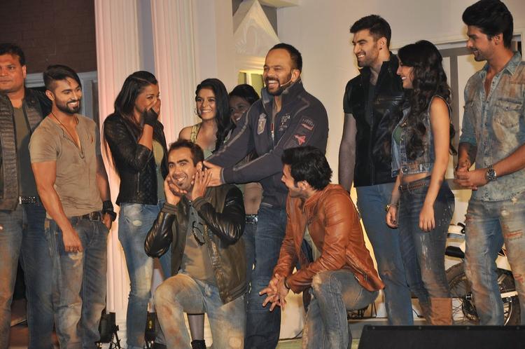 Dayanand,Salman Yusuff,Mugdha,Pooja,Ranvir,Rohit,Rajneesh,Nikitin,Rochelle Maria And Kushal Clicked At The Fear Factor – Khatron Ke Khiladi Season 5 Launch Event