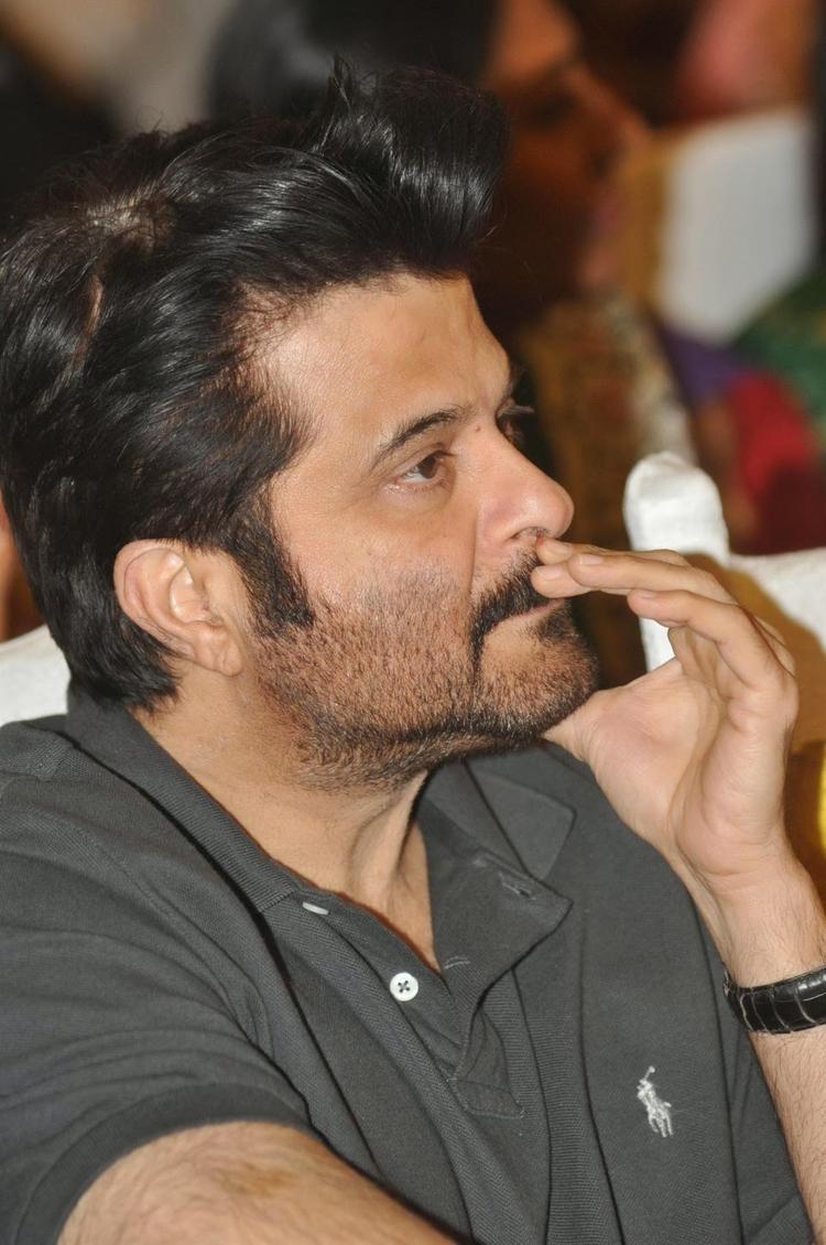 Anil Kapoor Closeup Pic During The Launch Of Sagar Movietone Book