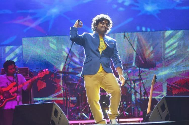 Singing Star Arijit Singh Rocked At Temptation Reloaded 2014 In Malaysia
