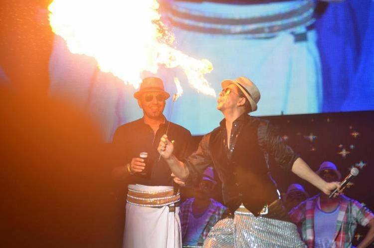 SRK Dons Furious Action At Temptation Reloaded 2014 In Malaysia