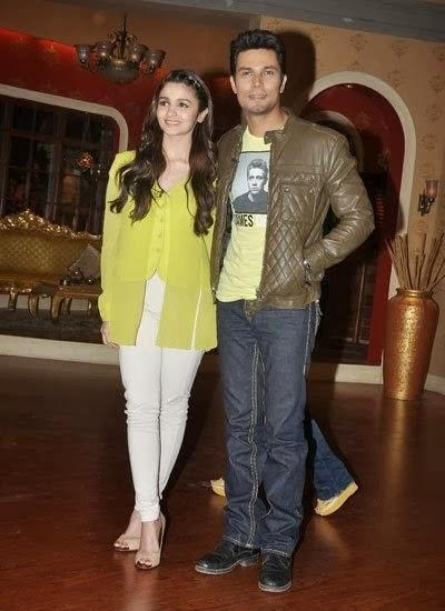 Alia Bhatt And Randeep Hooda's