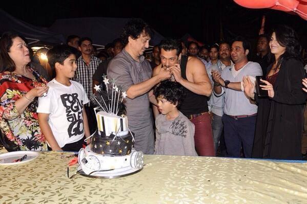 Salman Made Sajid's Birthday Special On The Sets Of Kick