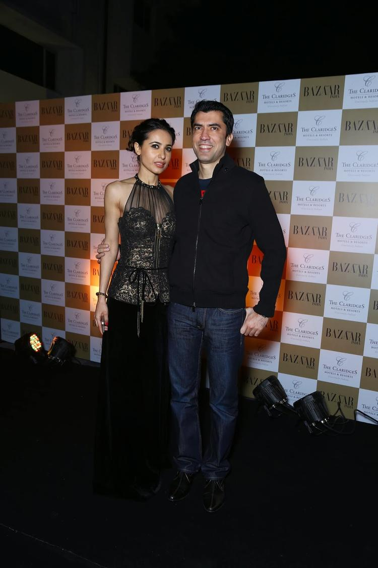 Celeb Guests Are Posed At The 5th Anniversary Of Harper's Bazaar