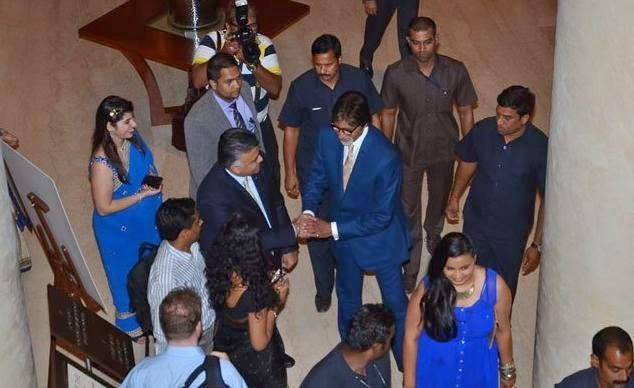 Big B At The First Edition Of Times Now ICICI Bank NRI Of The Year Awards 2014 Ceremony