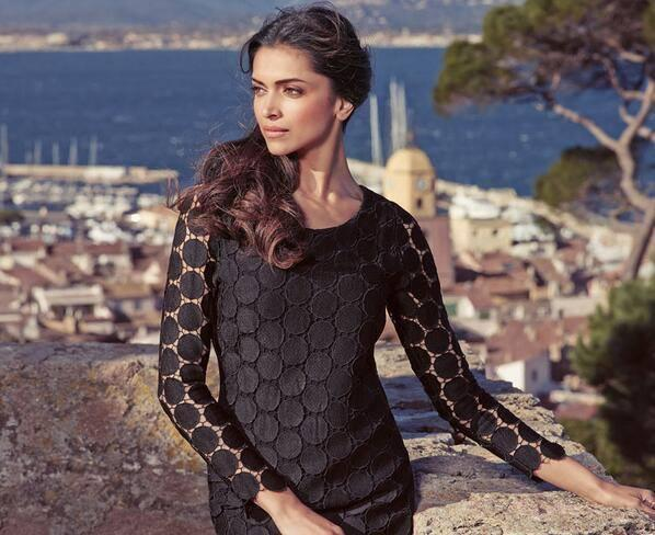 Deepika Strikes A Sizzling Pose For  Van Heusen's New Summer Luxury Campaign