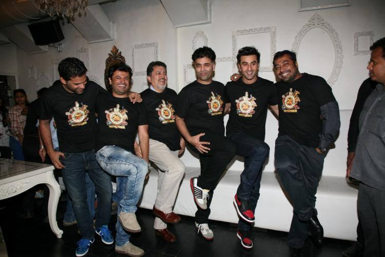 The Team Of Bombay Velvet Came Together To Celebrate The Wrap-Up Party