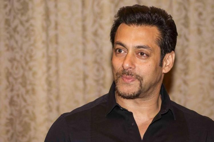Salman Khan A Sweet Still During The  Kick Press Conference In Poland
