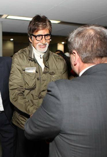 Amitabh Bachchan Arrives In Australia For The Indian Film Festival Of Melbourne