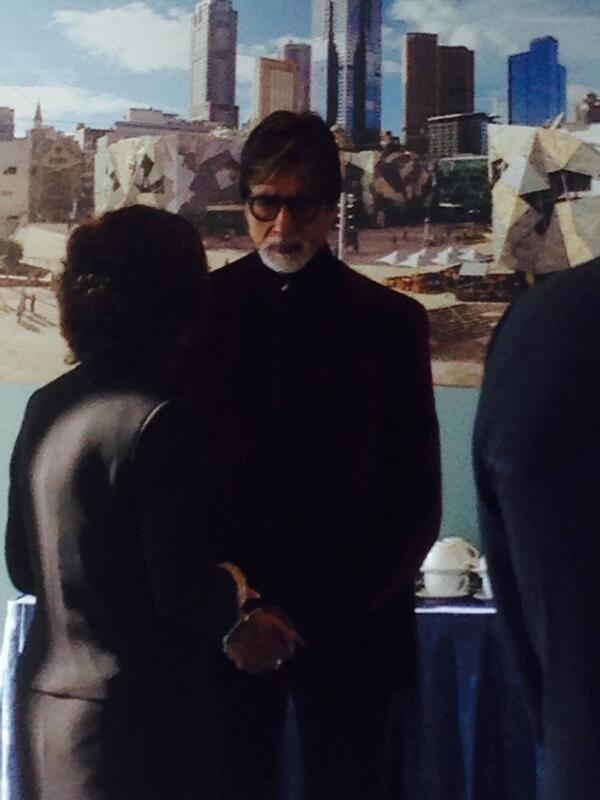 Amitabh Bachchan Spotted At The Indian Film Festival Melbourne