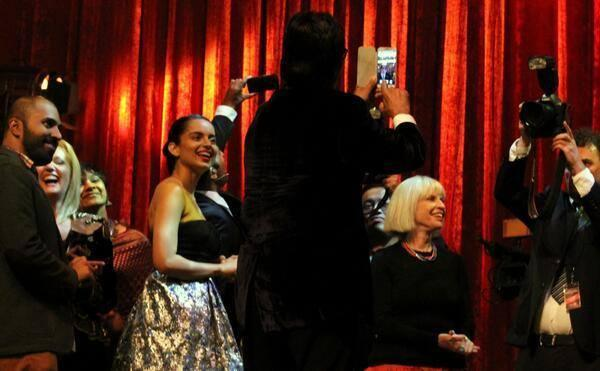 Kangana Fun With Melbourne Media At Indian Film Festival Melbourne
